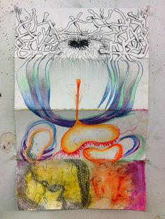 Exquisite Corpse - invented by Surrealists, like the game Consequences. Fun end of year idea maybe?