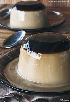 My man's kitchen...: Panna cotta kawowa z galaretką z espresso