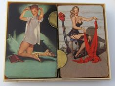 Vintage pin Up Playing cards Elvgren $19.99
