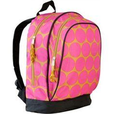 Wildkin Big Dots Hot Pink Sidekick Backpack $28.99