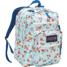 JanSport Big Student Backpack ($38) ❤ liked on Polyvore featuring bags, backpacks, blue, school & day hiking backpacks, shoulder strap backpack, jansport rucksack, jansport bags, pocket bag and jansport backpack