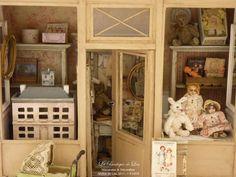 *♥ Atelier de Léa - Un Jour à la Campagne ♥*: Dentelles et Ribambelles ─ Boutique à l'échelle 1/12 ─ N°2