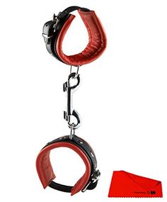 H3000010693 HANDCUFFS RED 5 CM Bondage Handschellen cuffs Sex Toys