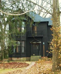 awesome black house