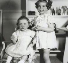 Princess Birgitta and Margaretha of Sweden c. 1938