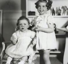 Princess Birgitta and Margaretha of Sweden c. 1938