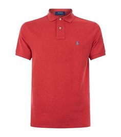 Polo Ralph Lauren Cotton Stretch Polo Shirt available to buy at Harrods.Shop clothing online and earn Rewards points. Raph Lauren, Ralph Lauren Shop, Types Of Handbags, Just Amazing, Harrods, Mens Fashion, Polo Shirts, Model, Mens Tops
