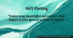 Eye contact is important :-) Infj Mbti, Introvert, Infj Type, Infj Personality, Personality Psychology, Psychology Quotes, Health Psychology, Always Learning, Education Quotes
