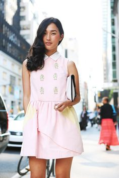 Nicole Warne wearing Patricia Chang Robot dress and clutch (Jessica Stein for Gary Pepper) #blogger #style