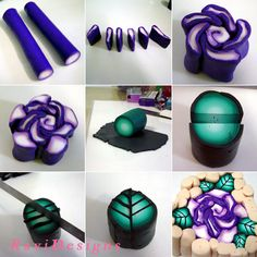 Rose cane - step by step   Flickr - Photo Sharing!
