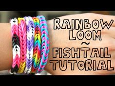 I've seen some of these bracelets. I could totally do it with a bunch of hair elastics