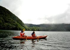 Twin Lakes (Lakes Balinsasayao and Danao), Negros Oriental Twin Lakes, My Memory, Philippines, Oriental, Twins, Boat, Memories, Places, Fun