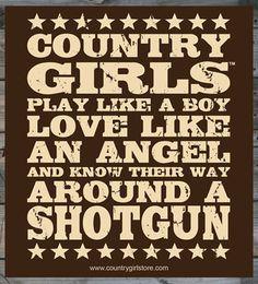 x Sticker – Country Girls Shotgun Country Girl® Shotgun x Sticker Real Country Girls, Country Girl Life, Country Strong, Cute N Country, Country Girl Stuff, Kickin Country, Country Girl Problems, Country Farm, Cow Girl