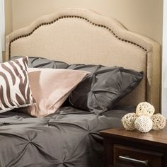 Bellagio Adjustable Full/ Queen Fabric Headboard by Christopher Knight Home - Free Shipping Today - Overstock.com - 15827342 - Mobile