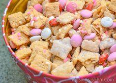 Valentine's Day Chex Mix recipe