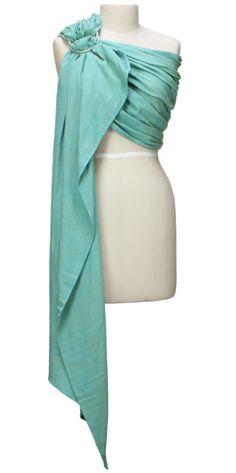 Girasol Turquoise Diamond ring sling