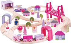 Bigjigs Toys Fairy Town Train Set Gift Registry, Train Set, Christmas Toys, Imaginative Play, Kids Toys, Children's Toys, 5 D, Fairy, Design