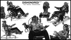 Dishonored The Brigmore Witches Art