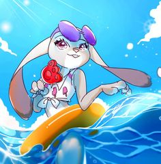 SUMMER JUDY by n09142 on DeviantArt