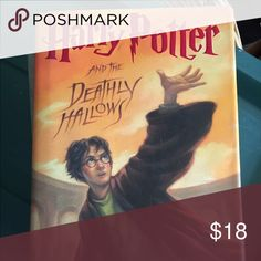 Harry Potter and the Dealthly Hallows Book Harry Potter and the Deathly Hallows Hard Cover book in excellent condition Other
