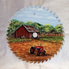 saw blade farm scene painting | Recent Photos The Commons Getty Collection Galleries World Map App ...