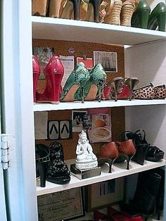 Fabulous Apartment Closet Ideas Shoe Storage Design