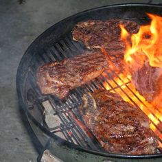 Copycat Restaurant Recipes: Steak Marinades from Outback and Applebee's, Two U...