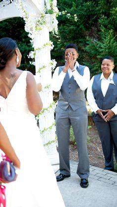 I LOVE this picture. How every bride wishes her betrothed to look upon her. Just lovely....