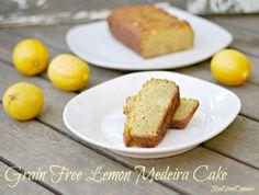 Grain Free Lemon Medeira Cake | Real Food Outlaws