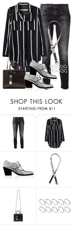 """Sin título #953"" by osnapitzvic ❤ liked on Polyvore featuring R13, H&M, Yves Saint Laurent and ASOS"