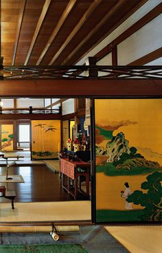 Japan - Nijo-jo Castle in Kyoto 京都・二条城 Japanese Style House, Traditional Japanese House, Japanese Interior Design, Japanese Design, Academia Jiu Jitsu, Nijo Castle, Japanese Buildings, Japanese Castle, Japanese Geisha