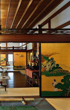 Japan - Nijo-jo Castle in Kyoto 京都・二条城 Academia Jiu Jitsu, Nijo Castle, Japanese Castle, Japanese Geisha, Japanese Kimono, Japanese Buildings, Traditional Japanese House, Asian Architecture, Japanese Interior Design