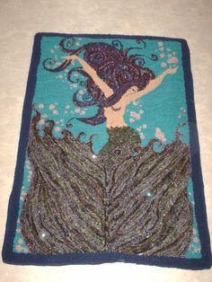 rug tufting tool. mermaid made by carmen hall 2015 punched rug from recycled garments with a crafters speed tufting tool r