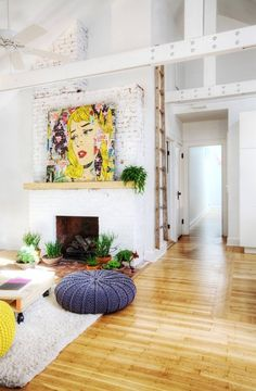 If You Love Pop Art, You're Gonna Want to Pin Every One of These Rooms   Apartment Therapy