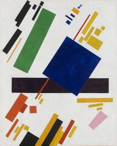 saji art:  Kazimir MalevichSuprematist Composition, 1916Sold...