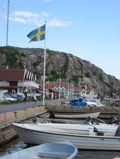 Grebbestad (Bohuslän) Sweden Welcome To Sweden, Stockholm Archipelago, Sweden Travel, Helsingborg, Aalborg, Gothenburg, Snow Scenes, Safari, Fishing Villages