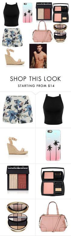 """""""Watching movies with celeb star Jamie dornan"""" by leila-hussain ❤ liked on Polyvore featuring ONLY, Miss Selfridge, Casetify, NARS Cosmetics, Lancôme, Armani Beauty and maurices"""