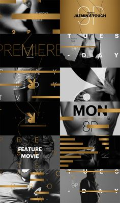 motion graphics/ storyboards/ styleframes | Playboy TV