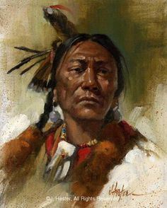 Native American Prints by J. Hester 168