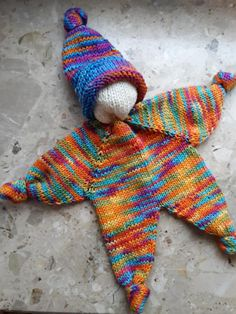 Knitting For Kids, Knitting Projects, Baby Knitting, Crochet Toys, Free Crochet, Knit Crochet, Diy Crafts Videos, Diy And Crafts, Dou Dou