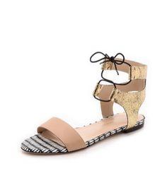 alexa flat sandals / loeffler randall