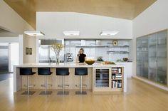 Modern Beach Home Kitchen - modern - kitchen - boston - ZeroEnergy Design