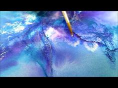 Linda Melvin's Abstract Fluid Watercolor System---Lesson 2 - YouTube