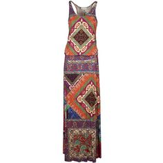 Geometric Pattern Dress (9.165 RUB) ❤ liked on Polyvore featuring dresses, pirate, womenclothingdresses, round neck sleeveless dress, pirate dress, sleeveless dress, geo dress and geo print dress