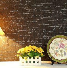 Encontre mais Papéis de parede Informações sobre 3D não tecido papel de parede mural inglês letras rolos de papel de parede papel de parede para sala de estar quarto casa decoração decoração de casa, de alta qualidade papel de parede de papel, papel de parede chinês China Fornecedores, Barato papel de parede de papel de LONG fashion Home Decoration em Aliexpress.com