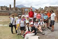 Explore #Pompeii as part of your walking tour of Amalfi with VBT. #Italy
