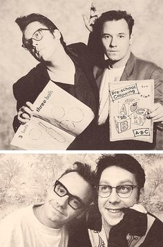 Vic and Bob. British Humor, British Comedy, Vic Reeves, Blackadder, Some Jokes, Funny Films, Bbc Tv, Photo Series, Famous Faces