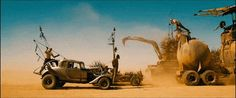 'Mad Max: Fury Road' baddies be cruising through the desert, throwing spears and jeers.