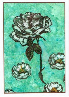 alcoholinkt rozen gebleekt met solution Janneke Kijne