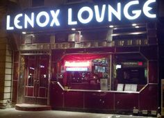 Lenox Lounge in Harlem served as venue for performances by many great jazz artists, including Billie Holiday, Miles Davis, and John Coltrane.